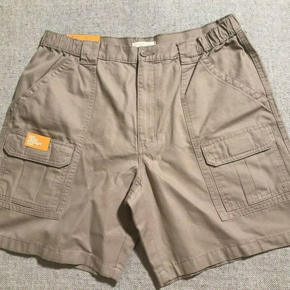 variety design latest trends amazon Savane Mens Cargo Shorts Tech Pocket Sz 36 NEW NWT
